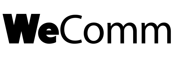 Logo de l'agence WeComm