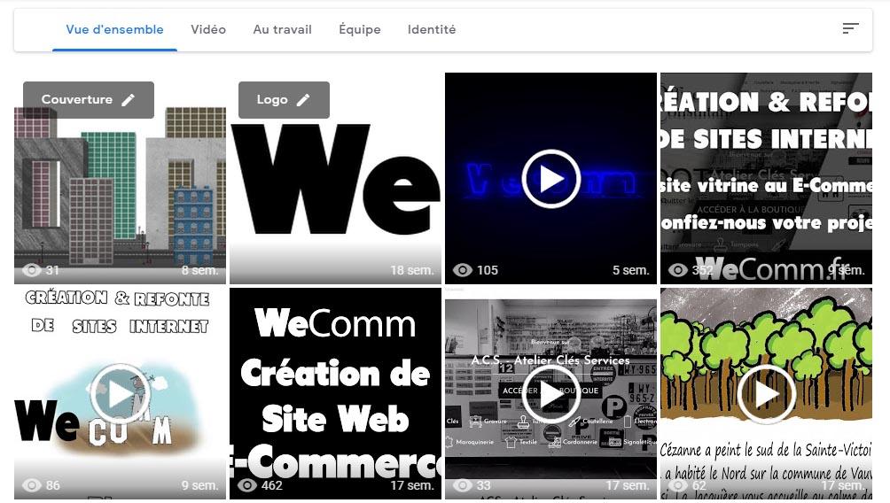 Ajouter photos vidéos google my business