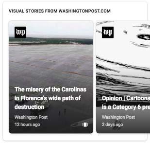 Carrousel Google Web Stories