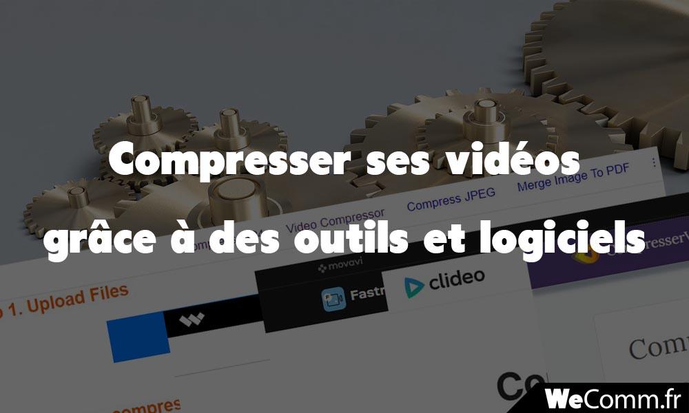 Compresser ses vidéos dans tous les formats mp4 webm