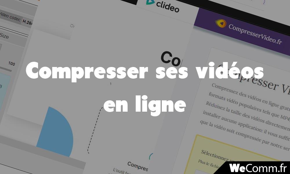 Compression de vidéo en ligne