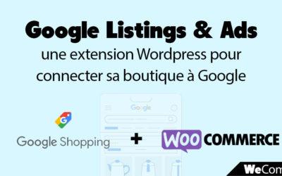 WooCommerce & Google Shopping : une extension WordPress pour connecter sa boutique