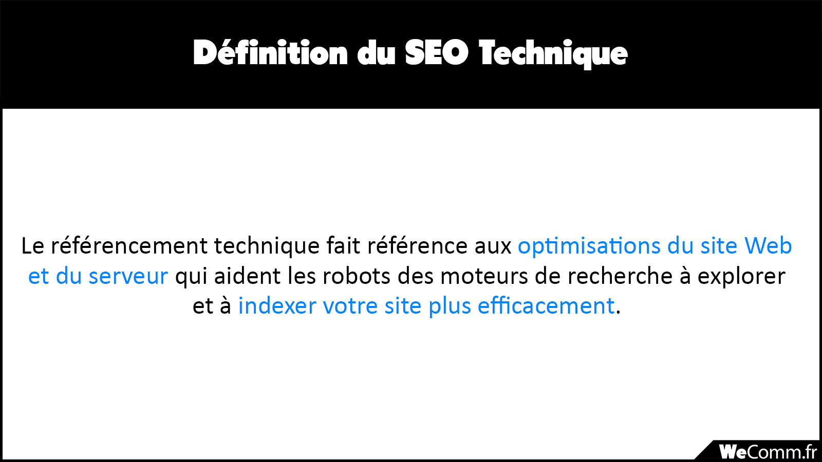Définition du SEO Technique