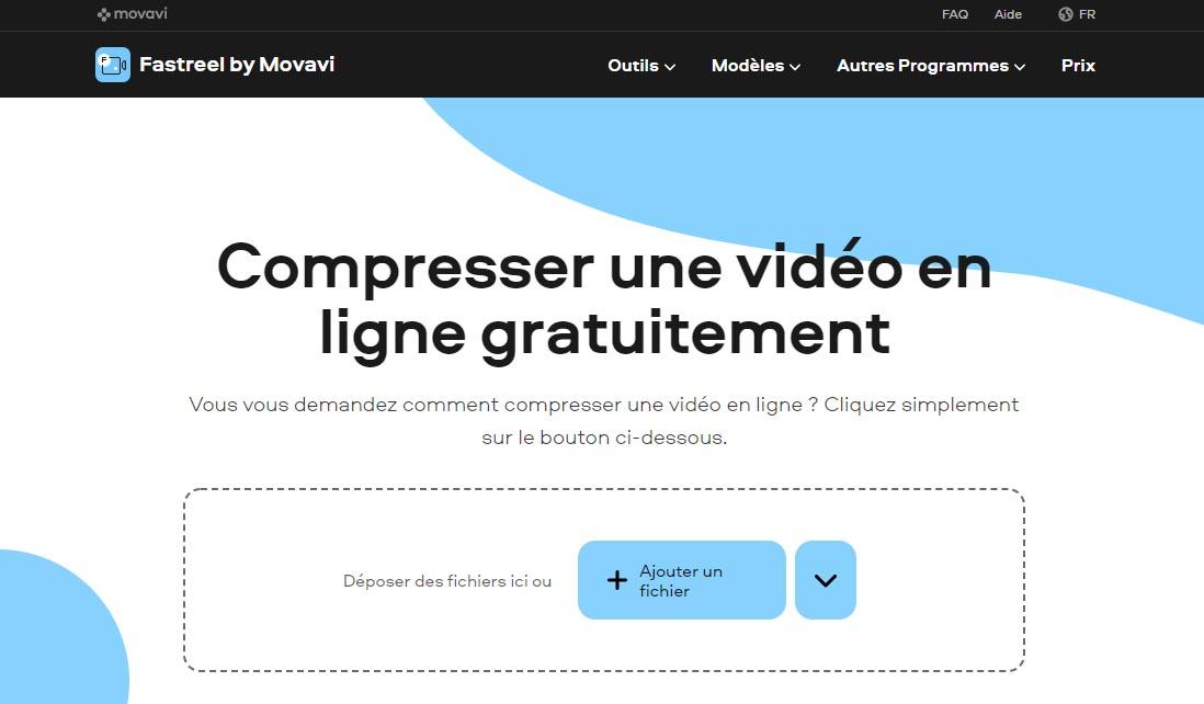 Fastreel par MovAVI : compresser ses vidéos MP4