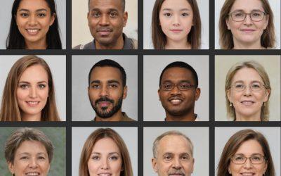 Generated Photos : Des photos libres de droits de visages factices