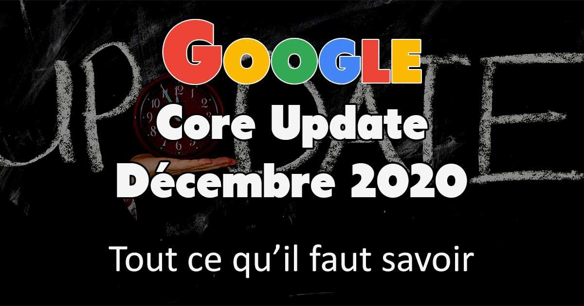 google core update décembre 2020