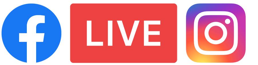 live direct sur facebook et instagram