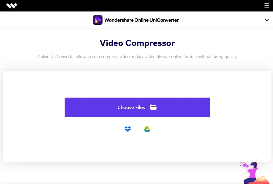 Media.io : online video compressor