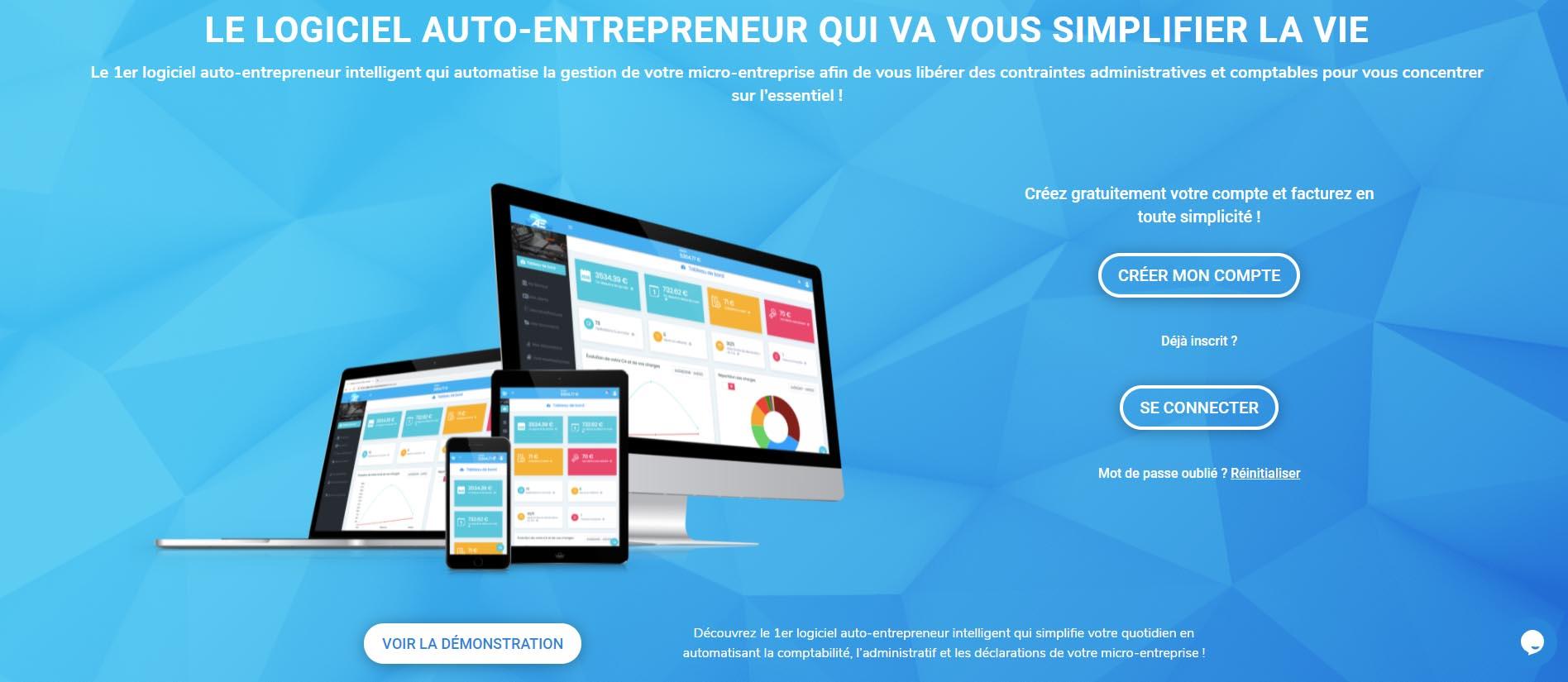 mon autoentreprise logiciel de facture pour auto-entrepreneur
