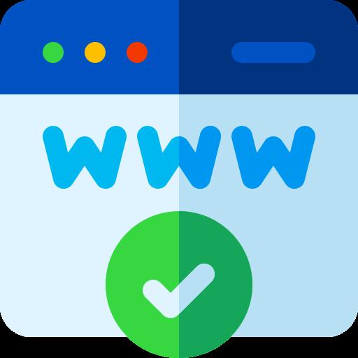 Icône Nom de domaine (NDD)