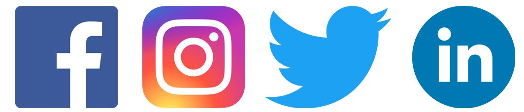 réseaux sociaux facebook instagram linkedin twitter