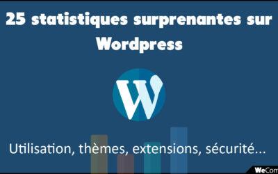 25 statistiques surprenantes sur WordPress, le CMS le plus utilisé au monde