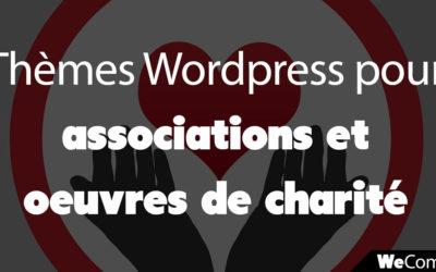 5 thèmes WordPress pour association, organisation, collecte de fonds