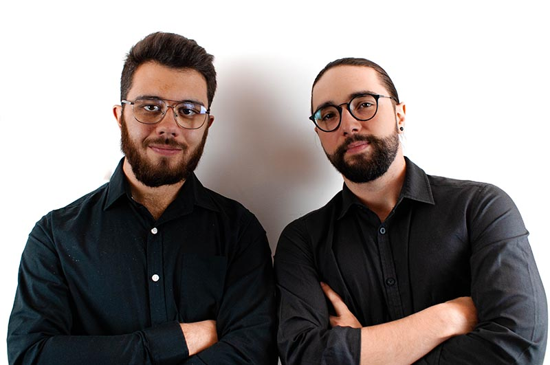 Brandon Velasco et Tiphaine Istria, dirigeants de WeComm